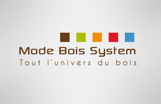 Création du logo Mode Bois System à Saint-Malo