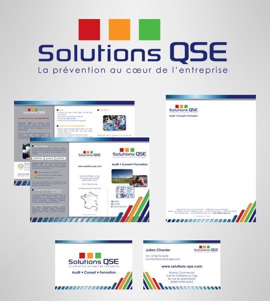 Refonte de l'identité visuelle Solutions QSE à Saint-Malo