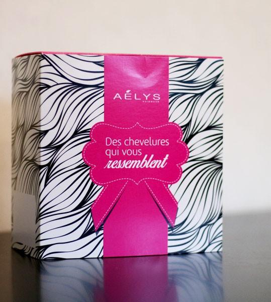 Réalisation du packaging Aelys