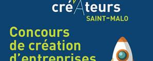 Création de l'affiche Etonnants Créateurs à Saint-Malo