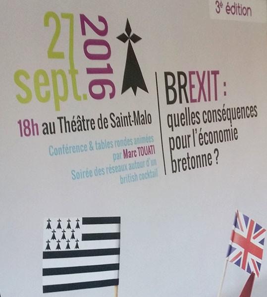 Création du visuel de Connect'Eco à Saint-Malo